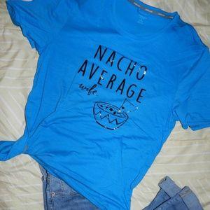 NACHO AVERAGE WIFE unisex medium shirt [NEW]